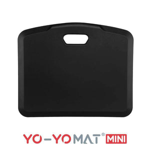 Yo-Yo MAT Black Side View Folded