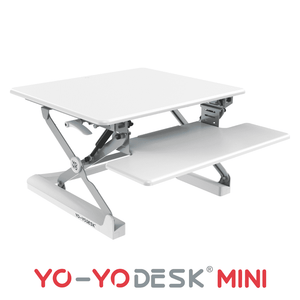 Yo-Yo DESK MINI White Side View