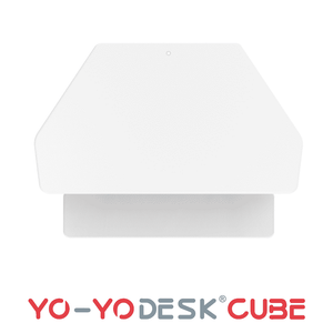 Yo-Yo DESK CUBE White Side View Folded