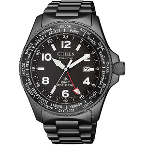 CITIZEN Promaster Eco-Drive GMT World Time BJ7107-83E