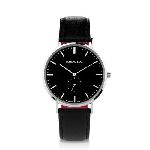 ROSSLING & CO. CLASSIC 40MM – ROGART (BLACK DIAL)