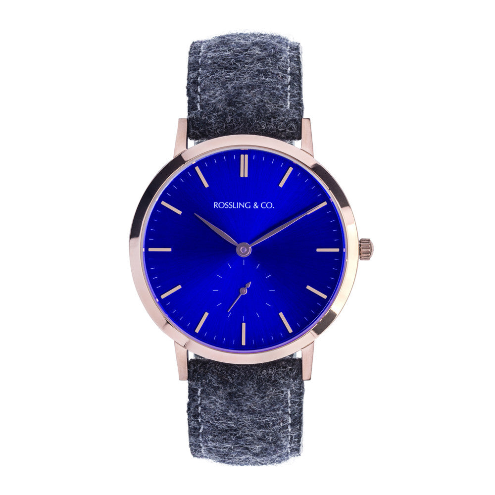 ROSSLING & CO. MODERN 36MM – GLENCOE ROSE GOLD