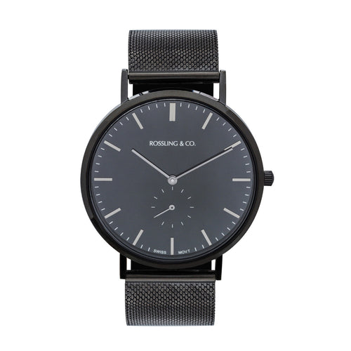 Rossling & Co. Classic 40mm - Midnight Mesh
