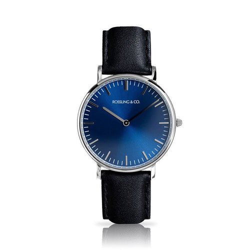 ROSSLING & CO. CLASSIC 36MM - BLUE
