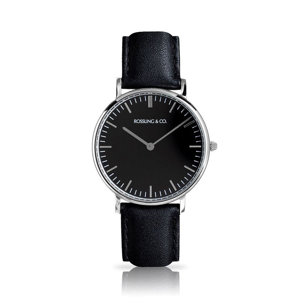 ROSSLING & CO. CLASSIC 36MM - BLACK
