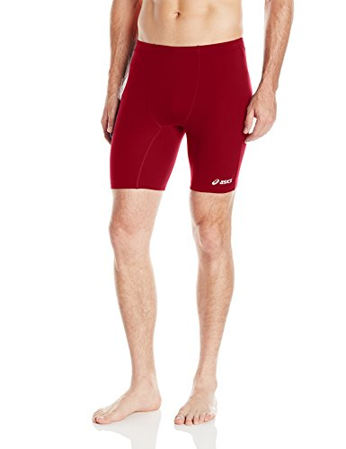 ASICS Men's Aptitude Field Shorts, Cardinal, Medium