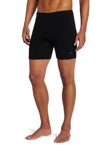 prAna Men's JD Short, Black, Large