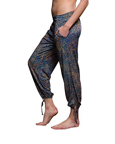 Onzie Yoga Gypsy Pants 212 Philosophy (Philosophy, Small/Medium)