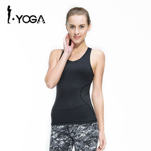 Fitness Women Sexy Tight Yoga Top Gym Sports Vest Sleeveless Shirts Tank Tops Running Clothes Female T-shirt Mesh Sportswear