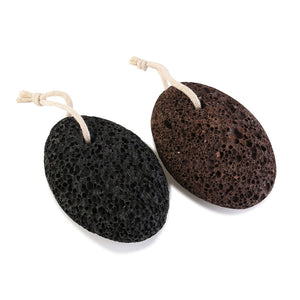 PIXNOR 2pcs Earth Lava Pumice Stone Remove Dead Skin Foot Massage SPA