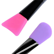 2pcs Face Mask Brush Silicone Facial Hairless Brush Facial Mask Mud Body Lotion Butter Applicator Tools