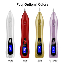 Portable USB Rechargeable Skin Tag Removal Tool Kit With 6 Modes Mole Eraser Removal Pen Professional Beauty Pen For Body Facial Freckle Nevus Warts Age Spot Tattoo Remover Beauty Tools