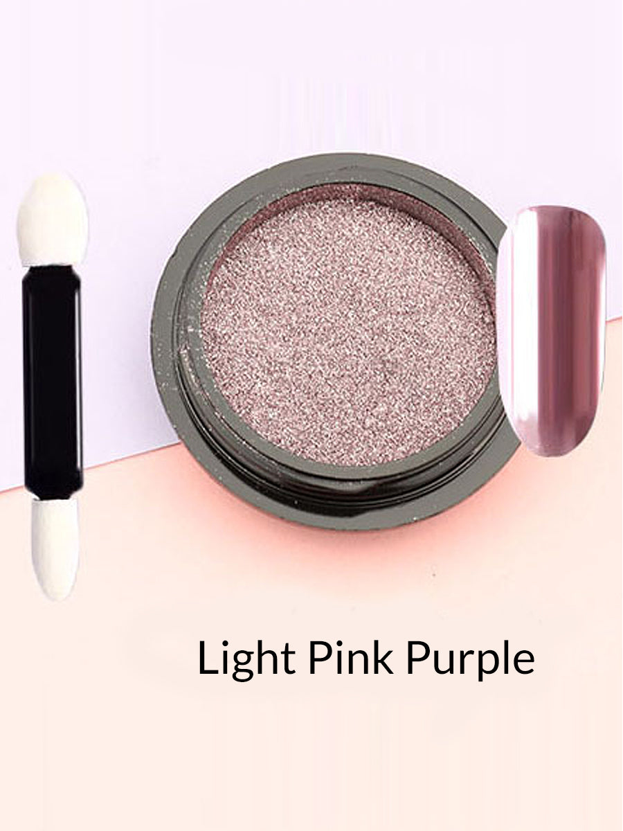 light pink mirror powder