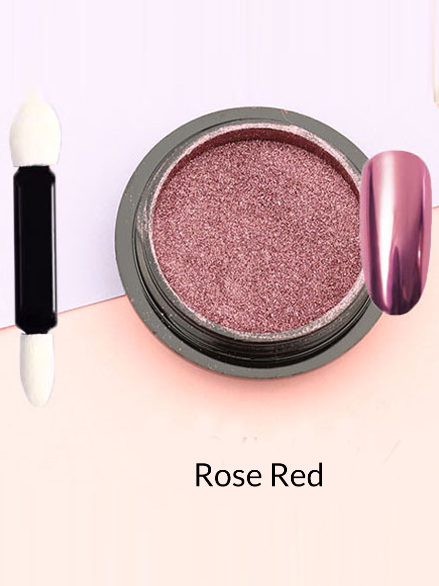 rose red mirror powder