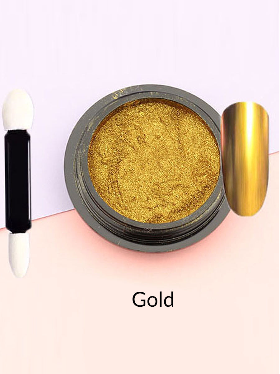 gold mirror powder