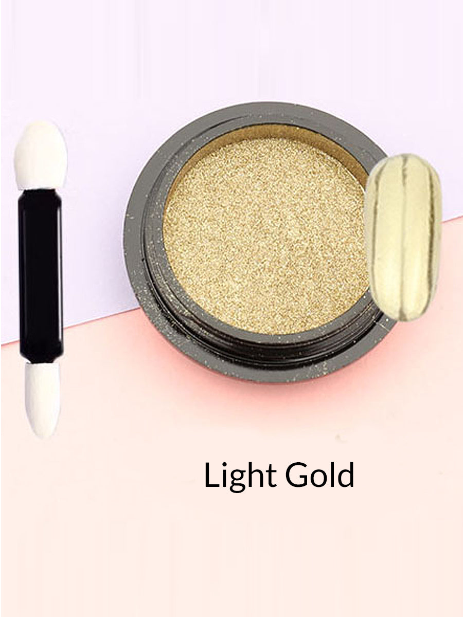 light gold mirror powder