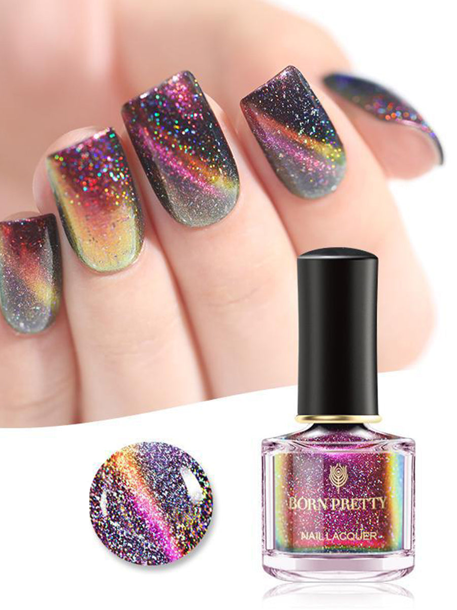 3d cat eye nail polish