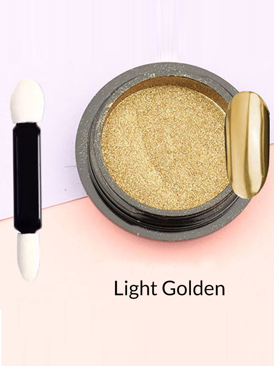 light golden mirror powder