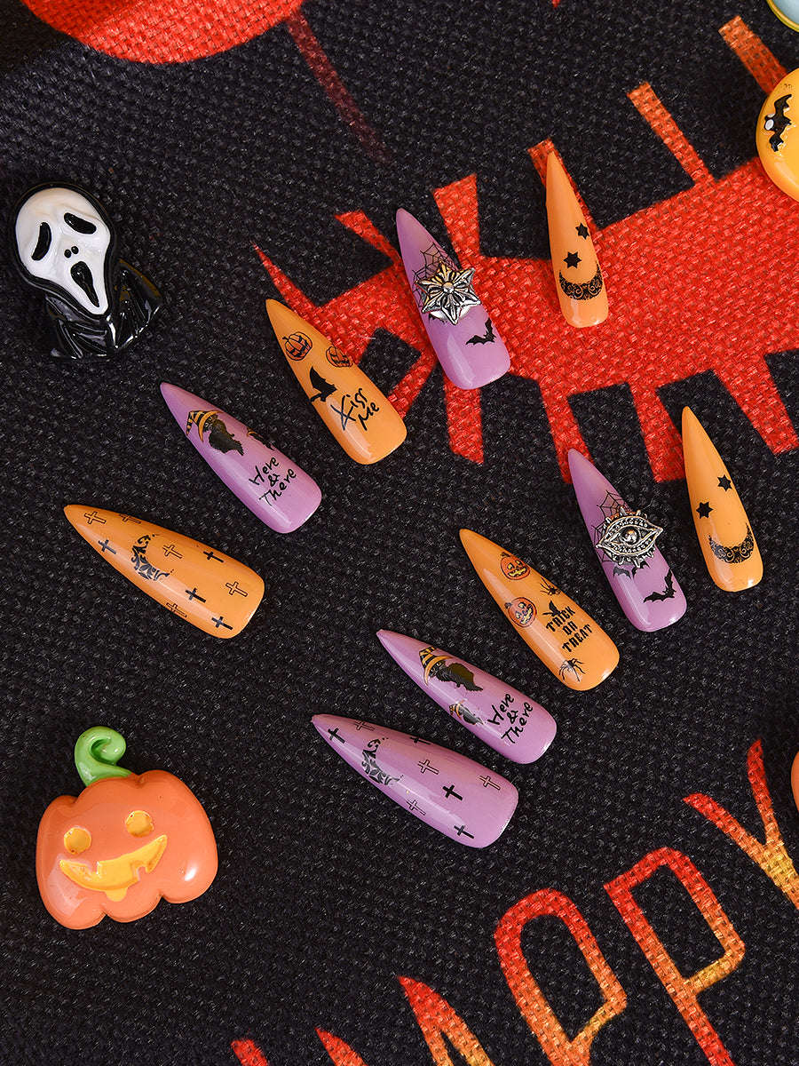 coffin nails halloween