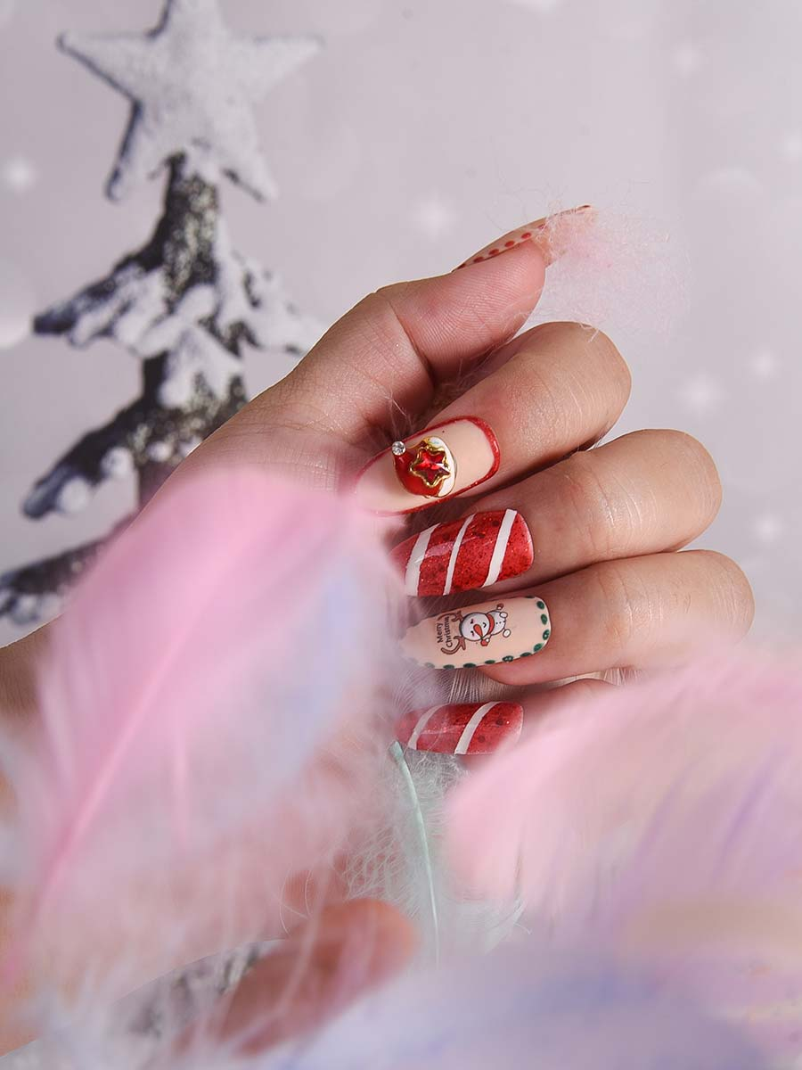 design nails for christmas