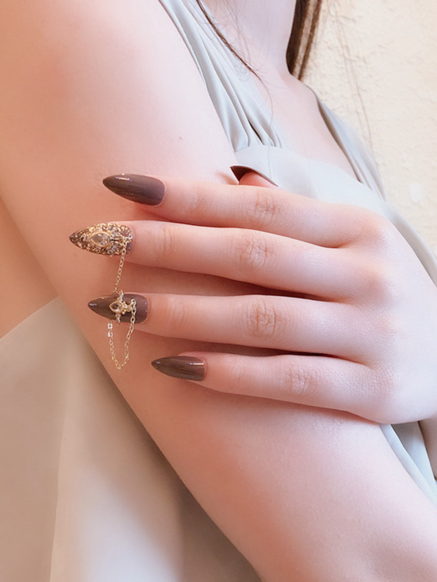 fake long nails