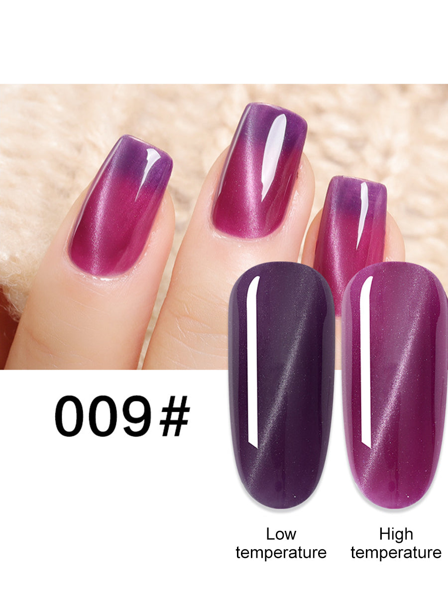 gelish temperature changing nail polish