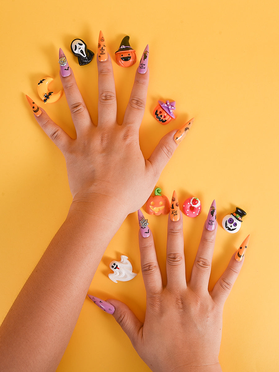 halloween style nails