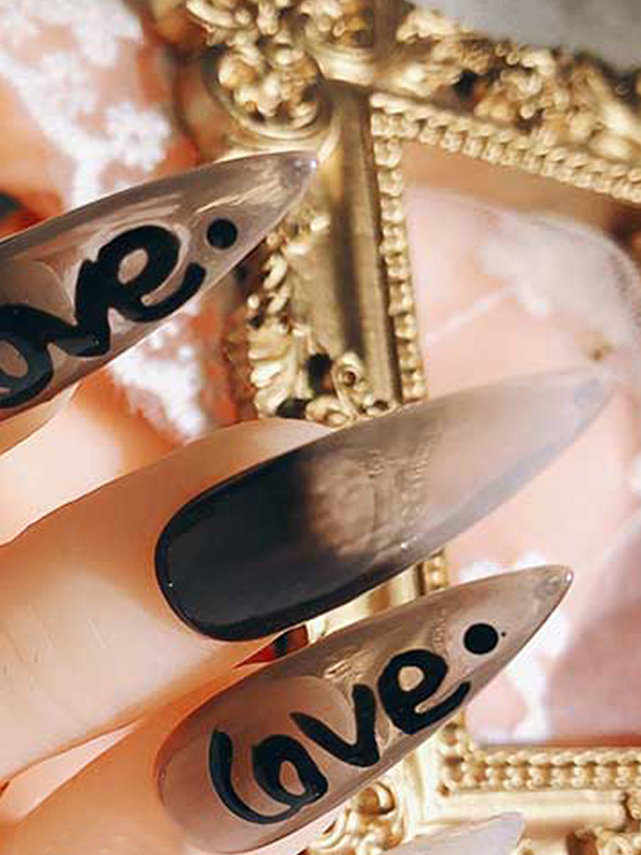 impress nails long