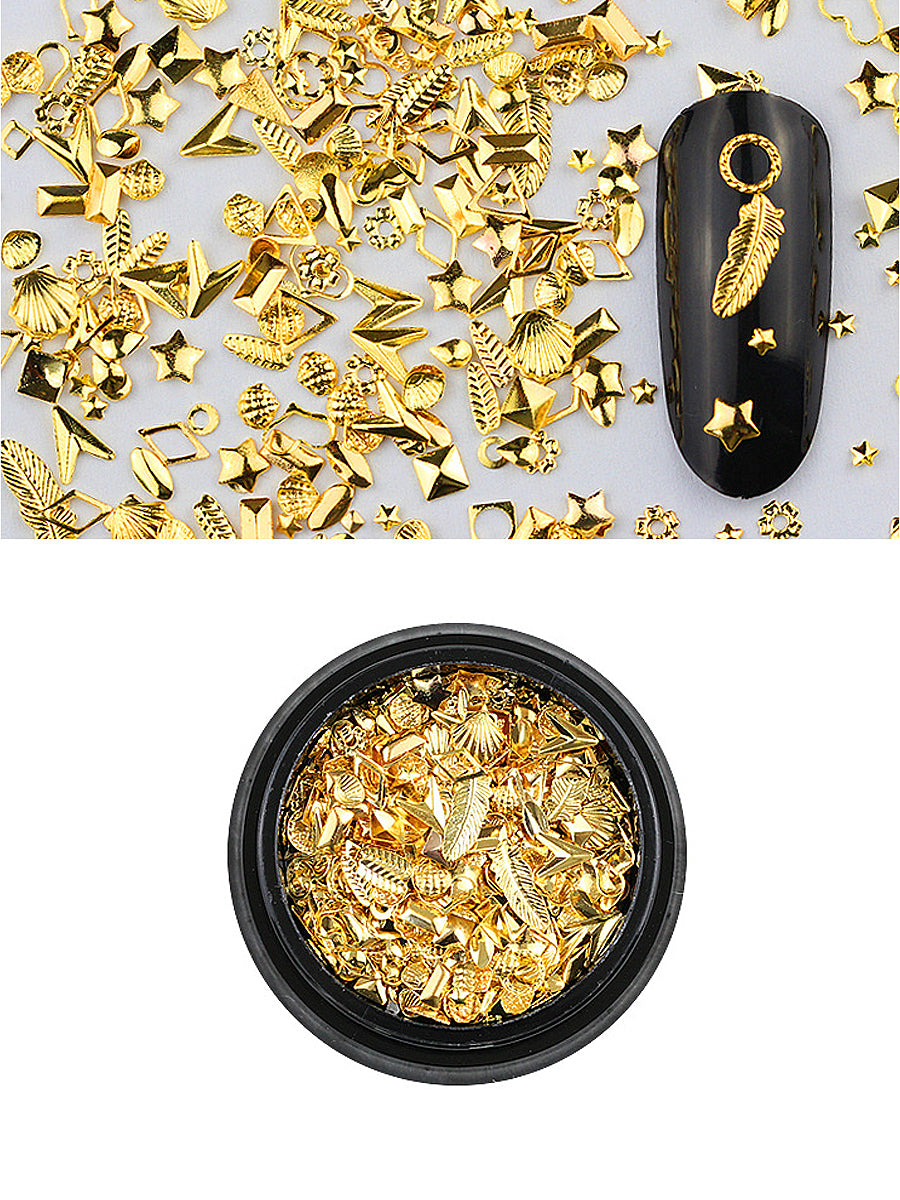nail rivet golden