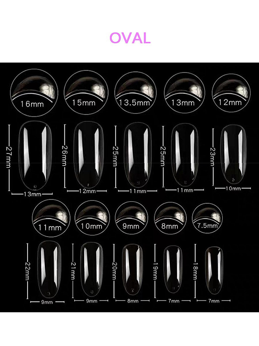 Luxury Gothic False Nails