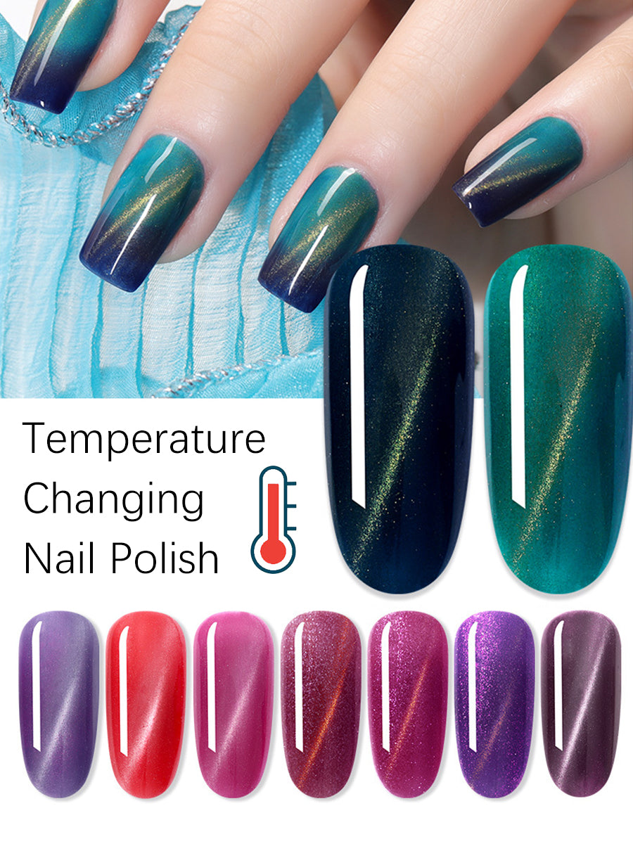 temperature nails gel