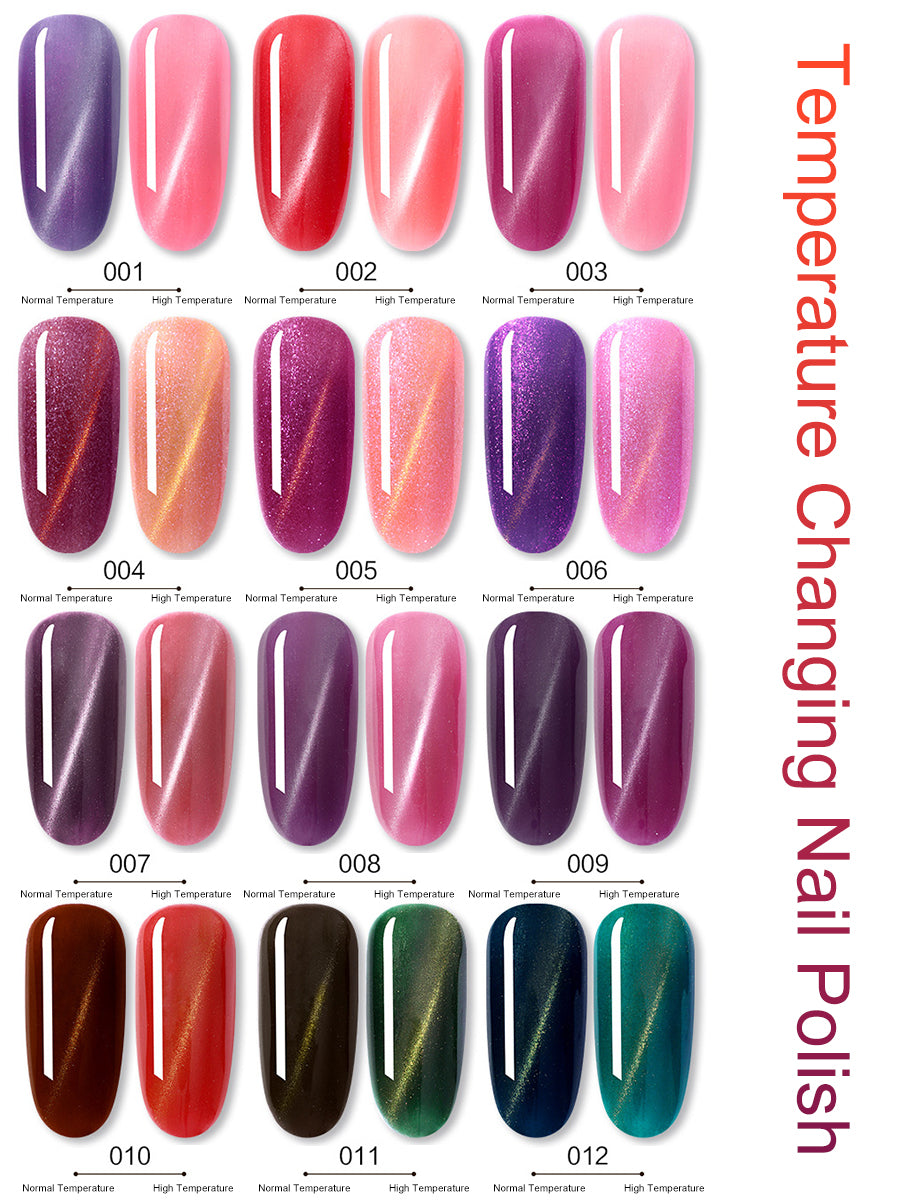 temperature sensitive nail polish