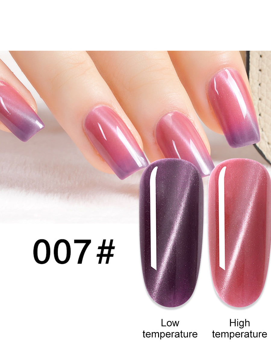 temperature uv gel nail