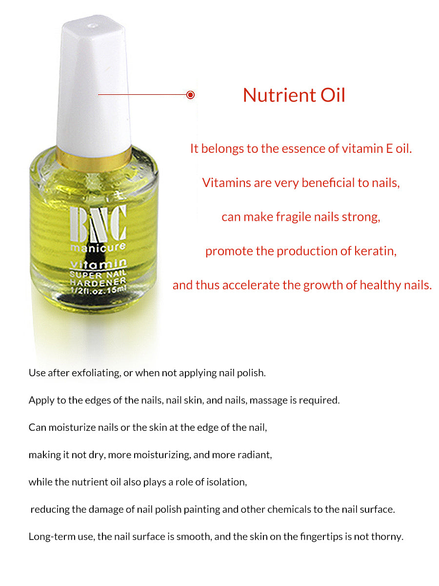 vitamin e oil for nails