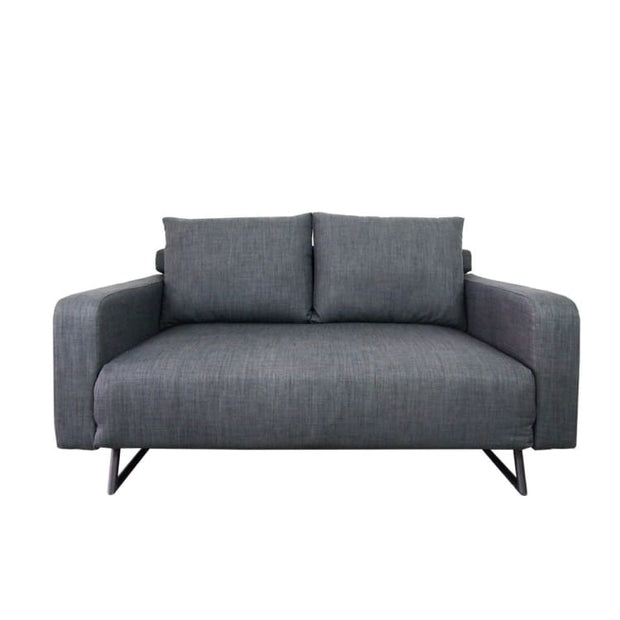 Aikin Sofa Bed, Grey (2.5 Seater) - Home And Style