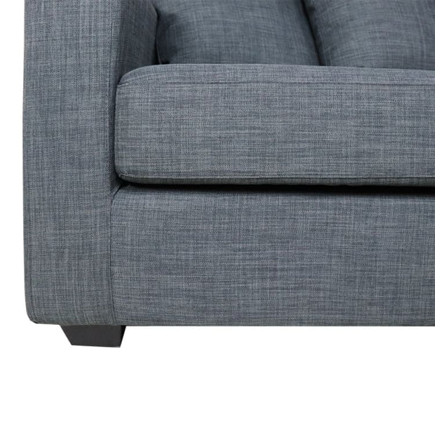 Anderson L Shape LEFT Side when Seated - Grey - Home And Style
