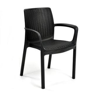 Bali 6 Chairs Armchair Set by Keter - Home And Style