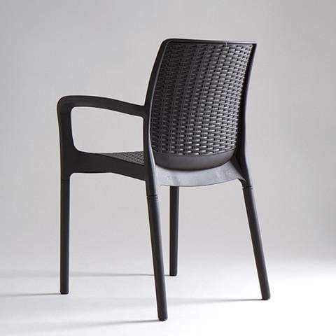 Bali Chair Grey by Keter - Home And Style