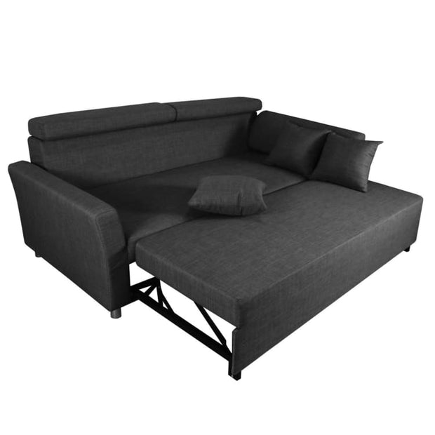 Bowen Sofa Bed, Grey - Home And Style