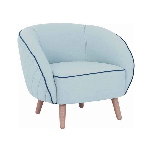 Brat Lounge Chair, Aquamarine - Home And Style