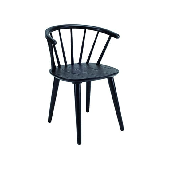 Caley Dining Chair - Black - Home And Style