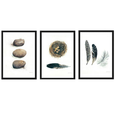 Calming Zen, Framed Print (3 Pieces) - Home And Style