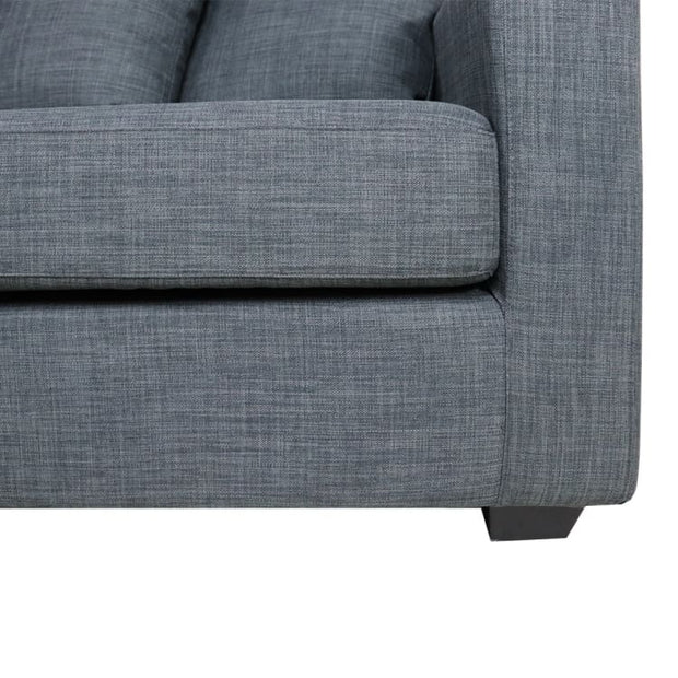 Carine L Shape RIGHT Side when Seated - Grey - Home And Style