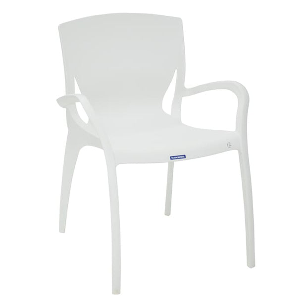 Clarice Armchair White - Home And Style