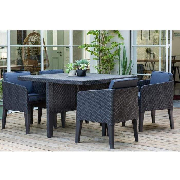 Columbia Dining 5pc Set by Keter - Home And Style