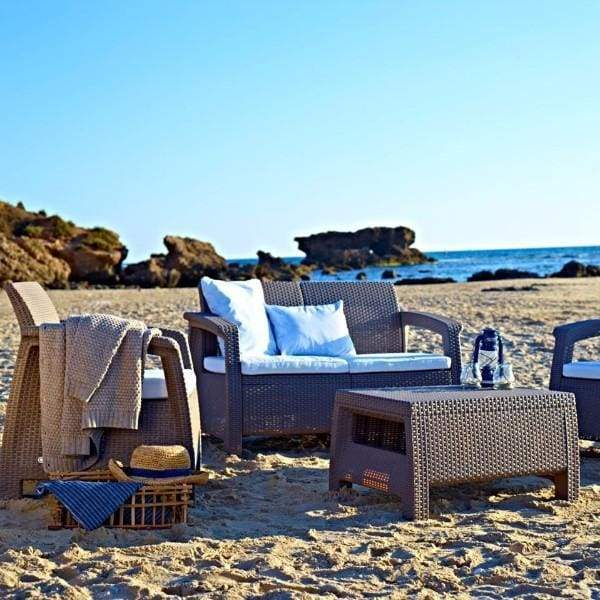 Corfu Set Sand Colour - Home And Style