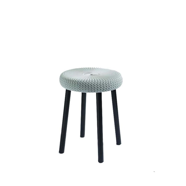 Cozy Stool Foggy Grey by Keter - Home And Style