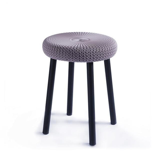 Cozy Stool Violet by Keter - Home And Style