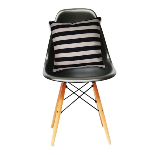 Cushion Stripe-Black - Home And Style