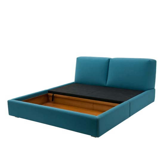 Dante Queen Bed - Teal - Home And Style